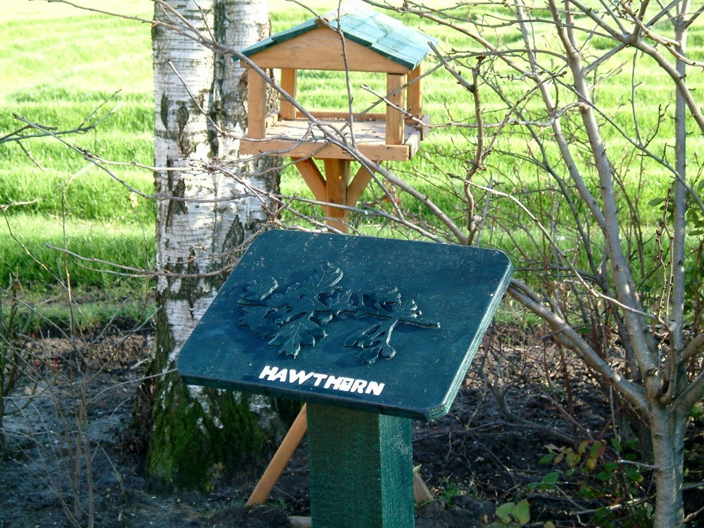 wildlife trail marker or ipad station
